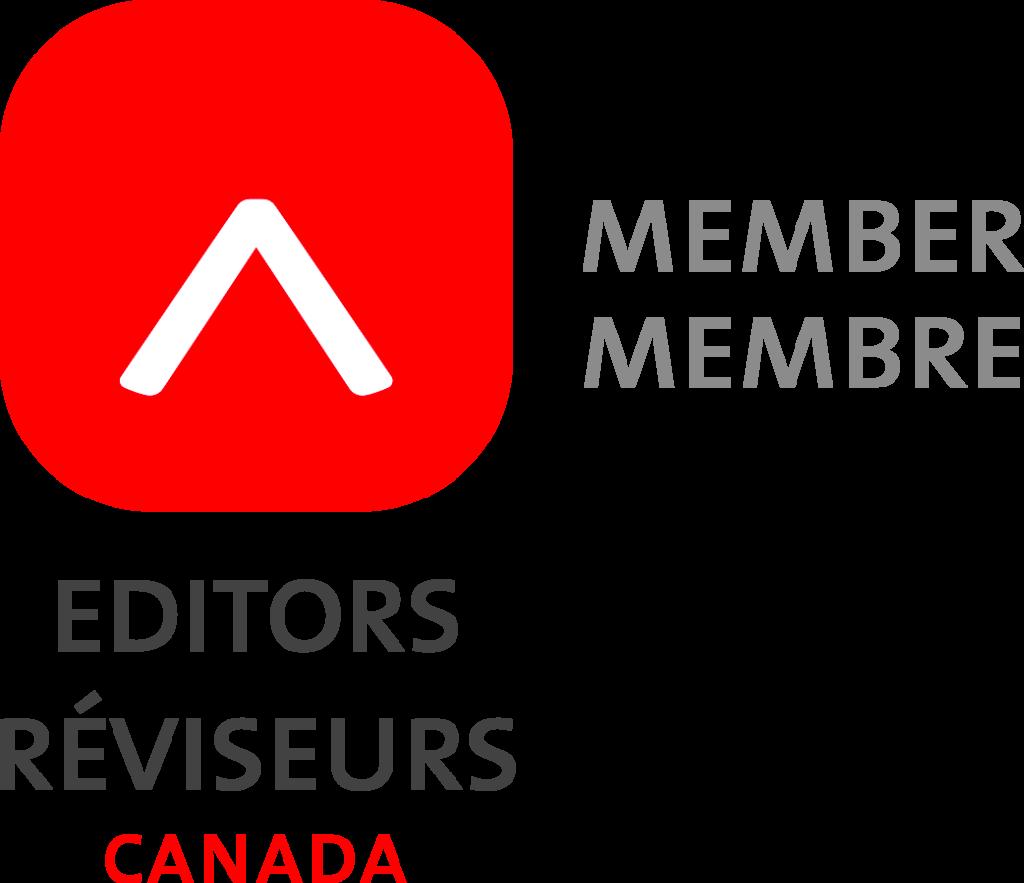 An Editors/Réviseurs Canada Member